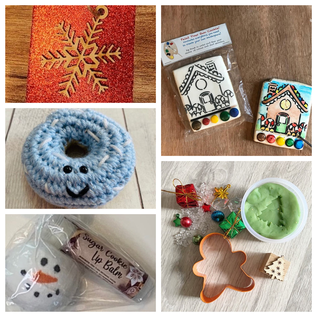 Personalized Handmade Local Christmas Activity & Gift Kits