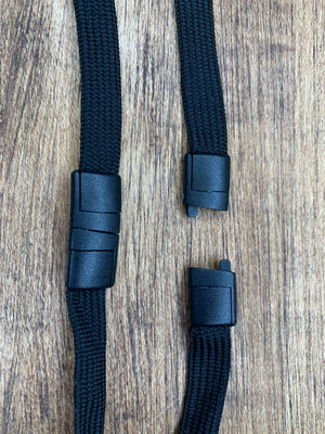 Swivel Clip Mask Lanyards (With Breakaway Safety Clip)