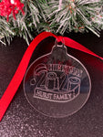 Personalized Covid Christmas Ornaments