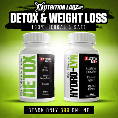 COMBO-Detox & Weight Loss Stack