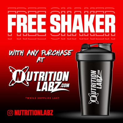 FREE Nutrition Labz Shaker