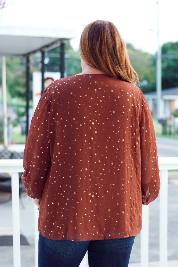 Bronze Star Blouse