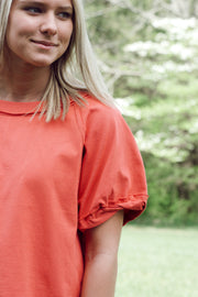 Raw Edged Detail Knit Top