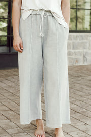 Upside Down Terry Knit Pants