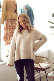 Sweater With Zipper Detail
