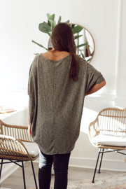 Solid Knit Top