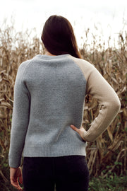 Star Color Block Sweater