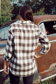 Boyfriend Button-Up Flannel