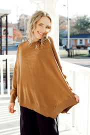Butter Soft Winged Slv Sweatershirt