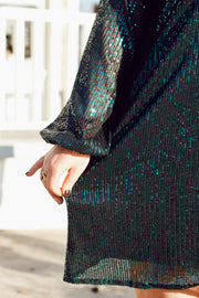 Sequin Mini Dress PLUS