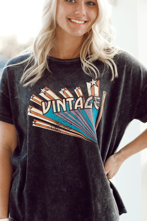 """Vintage"" Graphic Tee"