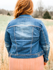 The Classic Denim Jacket Plus