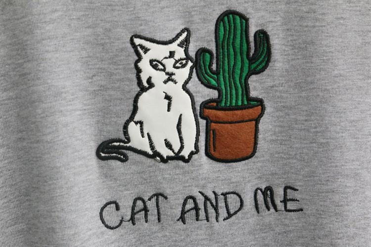 aesthetic cat and me tee shirt