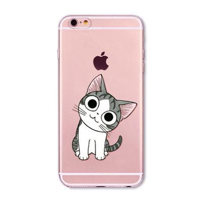Cat Printed Iphone Cases