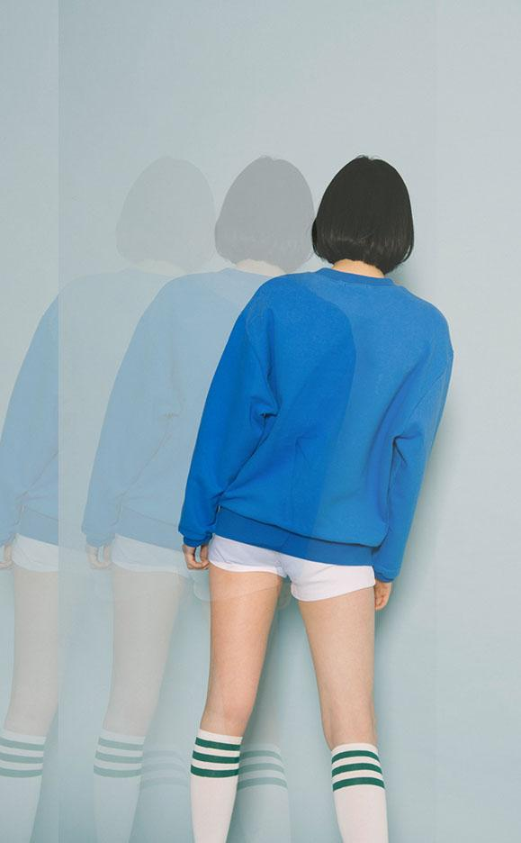 aesthetic cute dolphin pullover