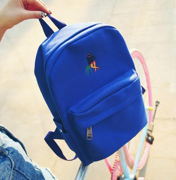 Blue Aesthetic Space Man BackPacks
