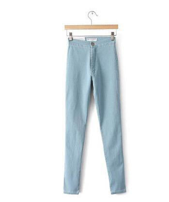 aesthetic fashion skinny jeans