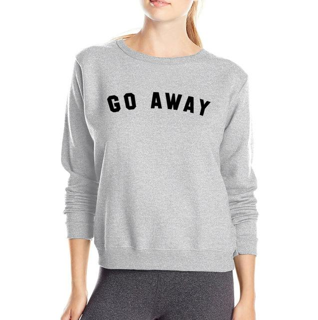 aesthetic go away pullover