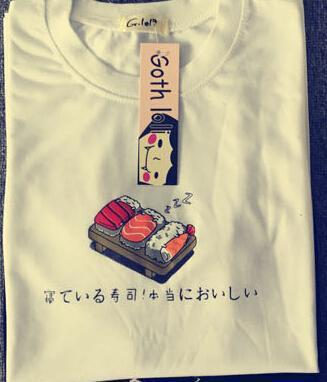 AESTHETIC JAPANESE SUSHI KAWAII T-SHIRT