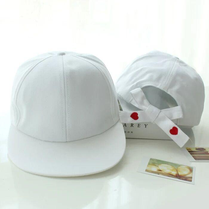 Aesthetic-kawaii Love Embroidery Hats-