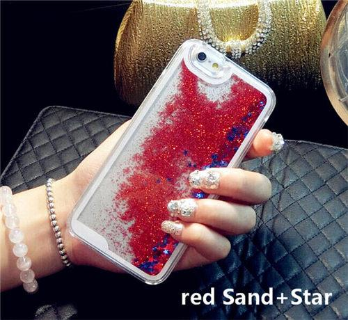 Liquid Glitter iPhone Cases