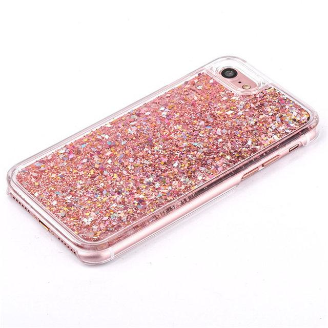 Pink Liquid Glitter IPhone Cases