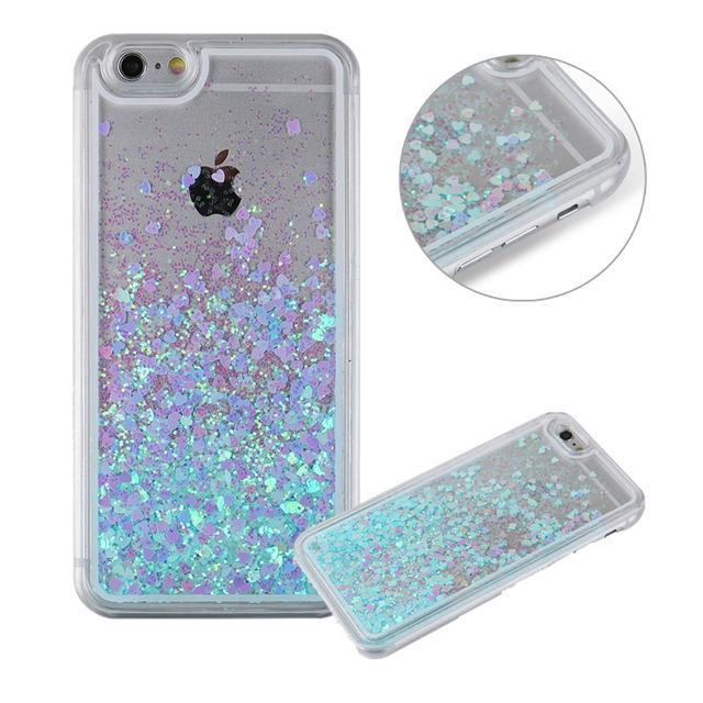 the best attitude 3650a 931c7 Liquid Glitter iPhone Cases
