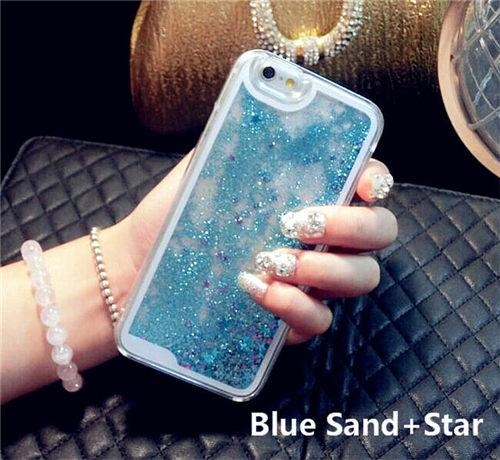 Aesthetic Liquid Glitter IPhone Cases