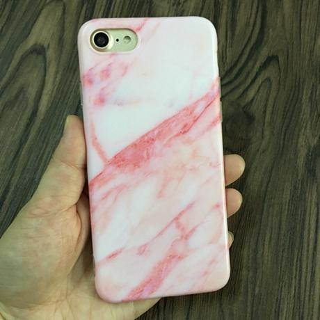 White Marble Stone Aesthetic IPhone Cases