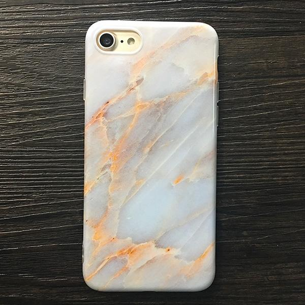 White Marble Aesthetic IPhone Cover