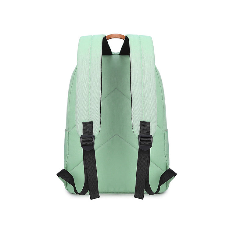 SOLID COLOR LARGE BACKPACK