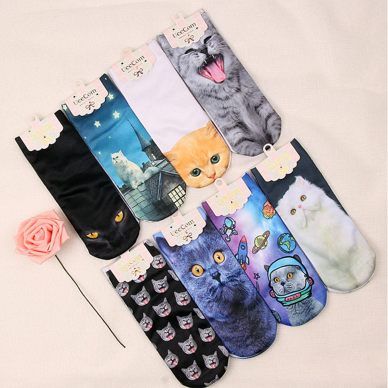 3D Print Cartoon Socks