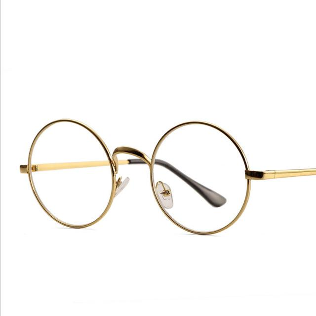 Retro Round Frame Women Glasses