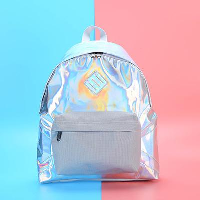 Silver Aesthetic Hologram Bags