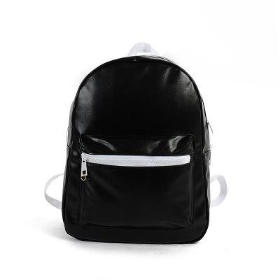 Black Shining Aesthetic Backpacks