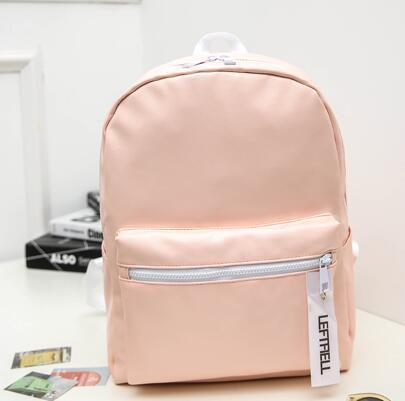 Pink Shinning Aesthetic Backpacks