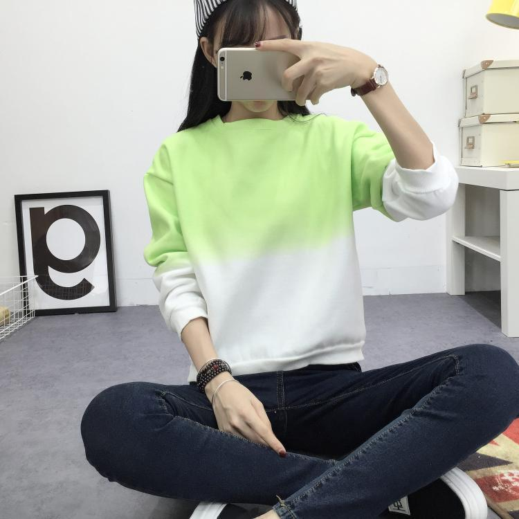 AESTHETIC SIMPLE TWO-TONE T-SHIRT