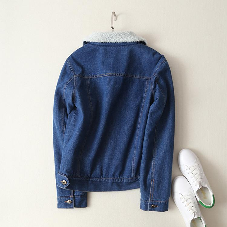 AESTHETIC SOFT INSIDE JEAN JACKET