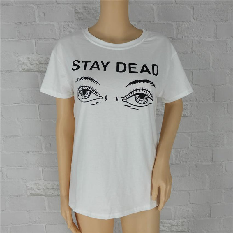 AESTHETIC STAY DEAD T-SHIRT