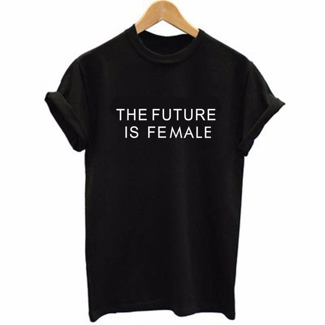 AESTHETIC THE FUTURE IS FEMALE T-SHIRT