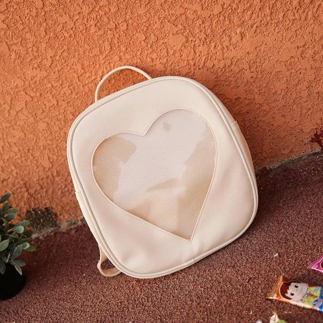Best Transparent Love Heart Shape Backpacks