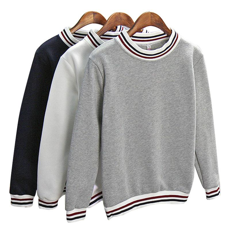 AESTHETIC TRIPLE STRIPED HARAJUKU SWEATSHIRT