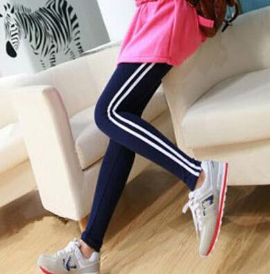AESTHETIC ELASTIC WORKOUT LEGGINGS PANTS