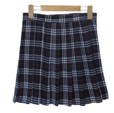AESTHETIC WINTER WOOL VINTAGE PLAID TULLE SKIRTS