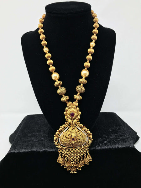 Indian Long Set Antique Gold