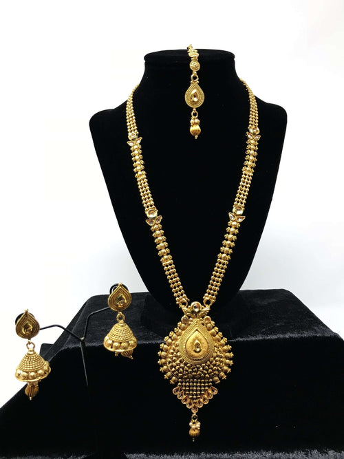 Antique Gold Long Set