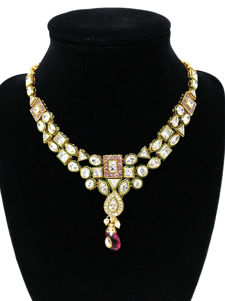 Kundan Set Indian Jewelry