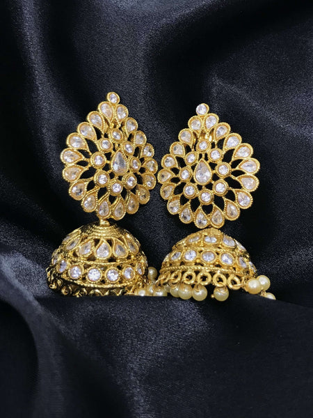 Large Jhumki Earrings