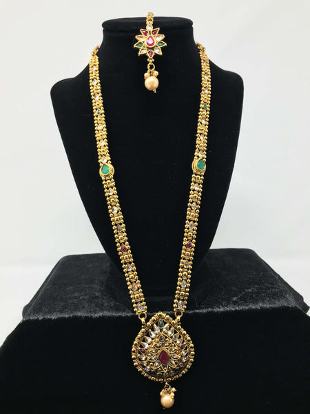 Long Antique Gold Set