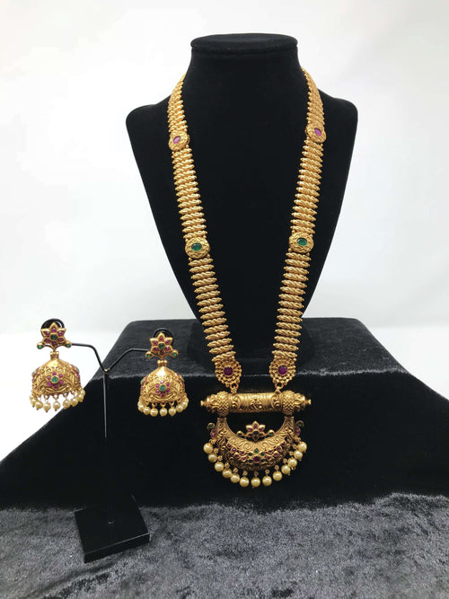 Temple Long Necklace